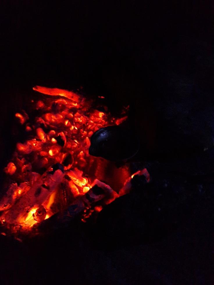 Akçakoca - Yıldızlar Altında Köz Üstünde Kupaya Yarısına Kadar Dolmayı Bekleyen Sade Kahve Cezvesi - 26 Temmuz 2015