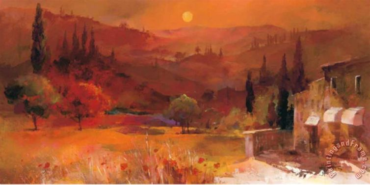 Willem Haenraets; Romantic Tuscany