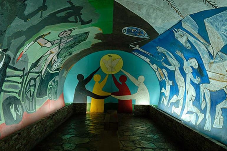 Vallauris Castle Museum -  1952 Pablo Picasso http://www.vallauris-golfe-juan.fr/The-national-Picasso-Museum.html?lang=en
