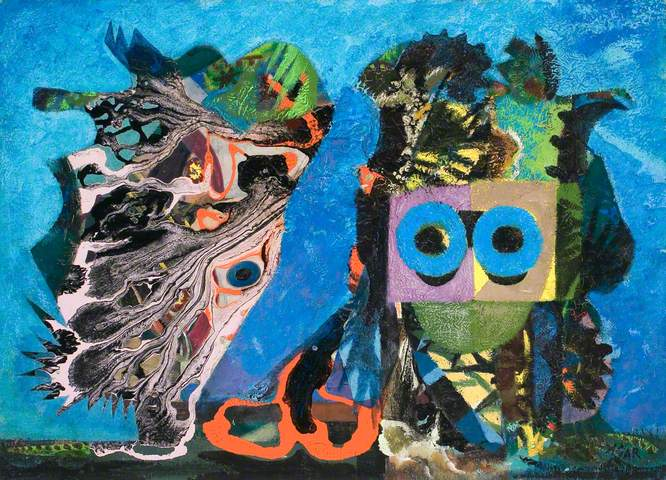 An Exceptional Occurrence - Eileen Agar (c) BRIDGEMAN; Supplied by The Public Catalogue Foundation